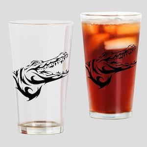 Alligator Head Drinking Glass