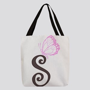 initial Polyester Tote Bag