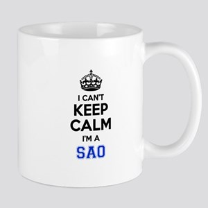 I cant keep calm Im SAAB Mugs