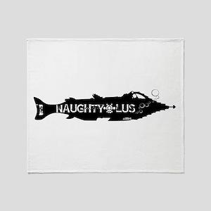 Naughtylus Throw Blanket