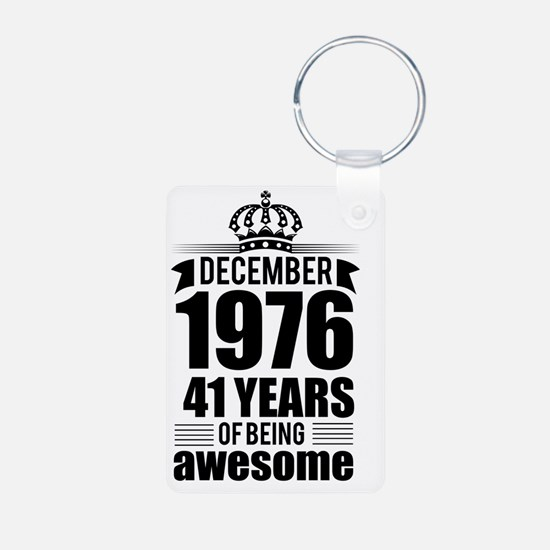Cute Cool 41 birthday Keychains