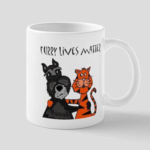 Dog and Cat Love Mugs
