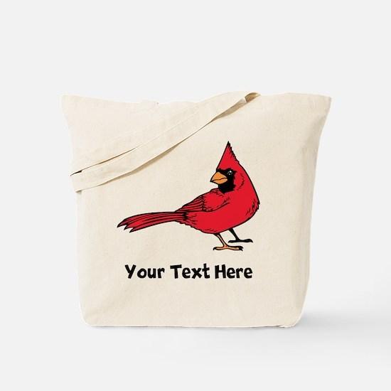 Red Cardinal (Custom) Tote Bag