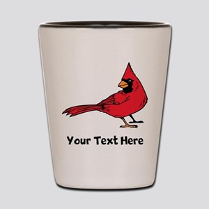 Red Cardinal (Custom) Shot Glass