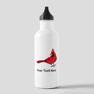 Red Cardinal (Custom) Water Bottle