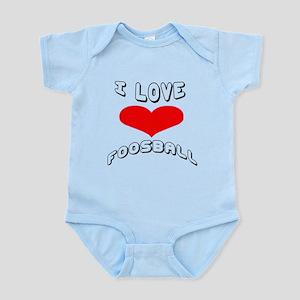 I love Foosball Games Infant Bodysuit