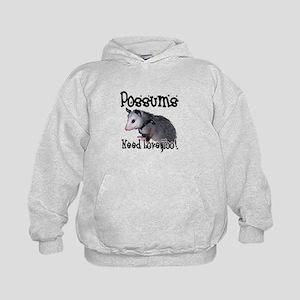 Possums Need Love Kids Hoodie