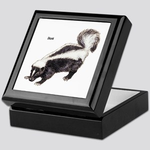 Skunk for Skunk Lovers Keepsake Box