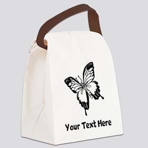 Butterfly (Custom) Canvas Lunch Bag