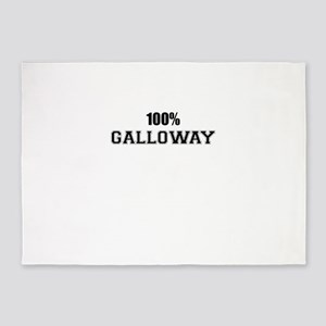 100% GALLOWAY 5'x7'Area Rug