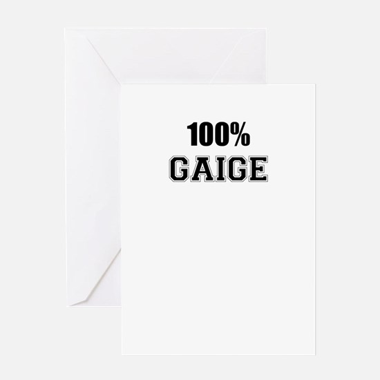 100% GAIGE Greeting Cards