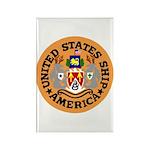 USS America (CVA 66) Rectangle Magnet (100 pack)