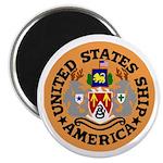 "USS America (CVA 66) 2.25"" Magnet (10 pack)"