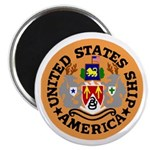 "USS America (CVA 66) 2.25"" Magnet (100 pack)"