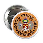 "USS America (CVA 66) 2.25"" Button (10 pack)"