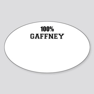 100% GAFFNEY Sticker