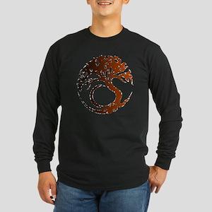 Tree Circle 1h cb Long Sleeve T-Shirt