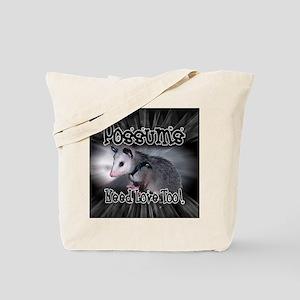 Possums Need Love Tote Bag