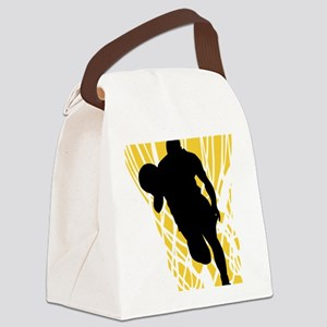 basket9colored Canvas Lunch Bag