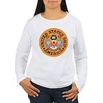 USS America (CVA 66) Women's Long Sleeve T-Shirt