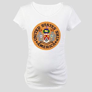 USS America (CVA 66) Maternity T-Shirt