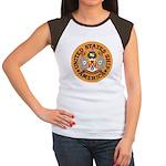 USS America (CVA 66) Women's Cap Sleeve T-Shirt