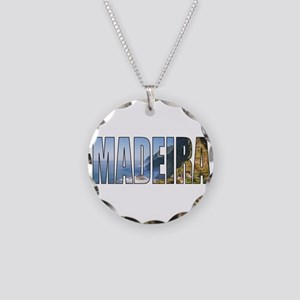 Madeira Necklace Circle Charm