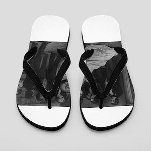 john quincy adams Flip Flops