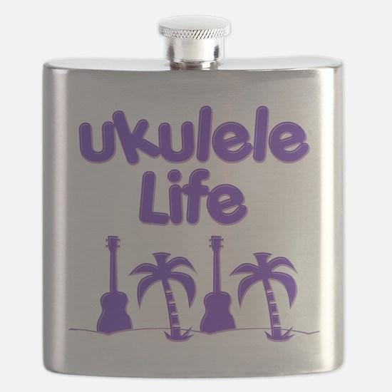 Purple Ukulele Flask