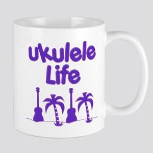 Purple Ukulele Mugs