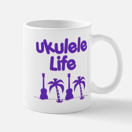 Purple Ukulele Mugs