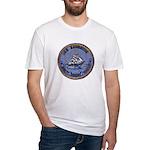 USS BAINBRIDGE Fitted T-Shirt