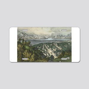 great salt lake Aluminum License Plate