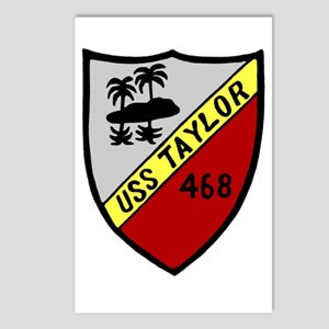 USS Taylor (DD 468) Postcards (Package of 8)