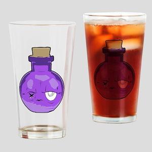 purple bottle Drinking Glass