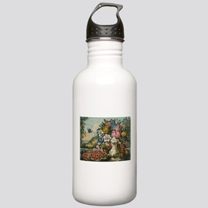 fruit and flowers Water Bottle