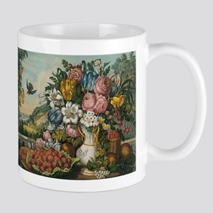 fruit and flowers Mugs