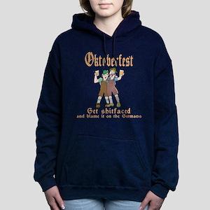 oct17black Women's Hooded Sweatshirt