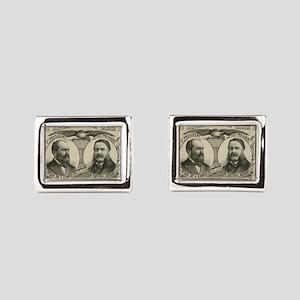1880 Rectangular Cufflinks