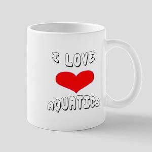 I love Aquatics Games Mug