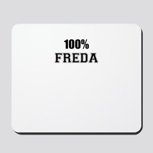 100% FREDA Mousepad