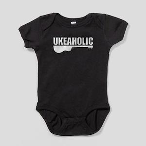 Ukulele uke Baby Bodysuit