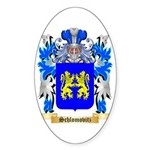 Schlomovitz Sticker (Oval 50 pk)