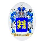 Schlomovitz Oval Ornament