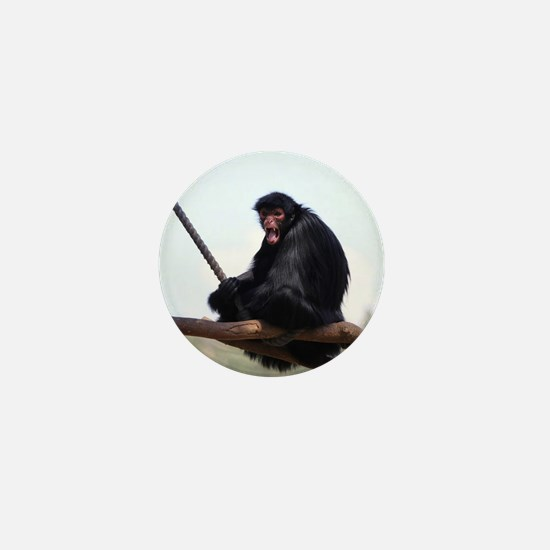 spider monkey Mini Button