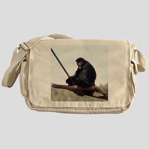 spider monkey Messenger Bag
