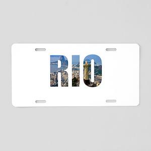 Rio Aluminum License Plate