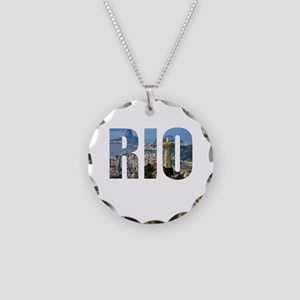Rio Necklace Circle Charm