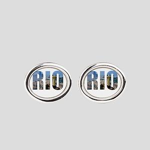 Rio Oval Cufflinks