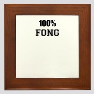 100% FONG Framed Tile